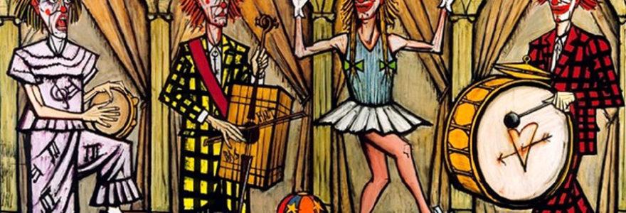 """""""Les clowns"""" de Bernard Buffet"""